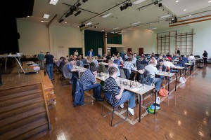 Leek Chess Congress in play